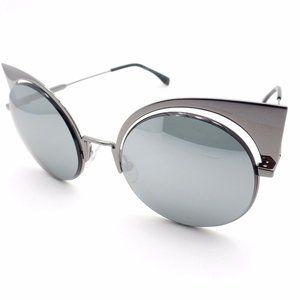 Fendi Round Cat Eye Women's Sunglasses FF 0177/S